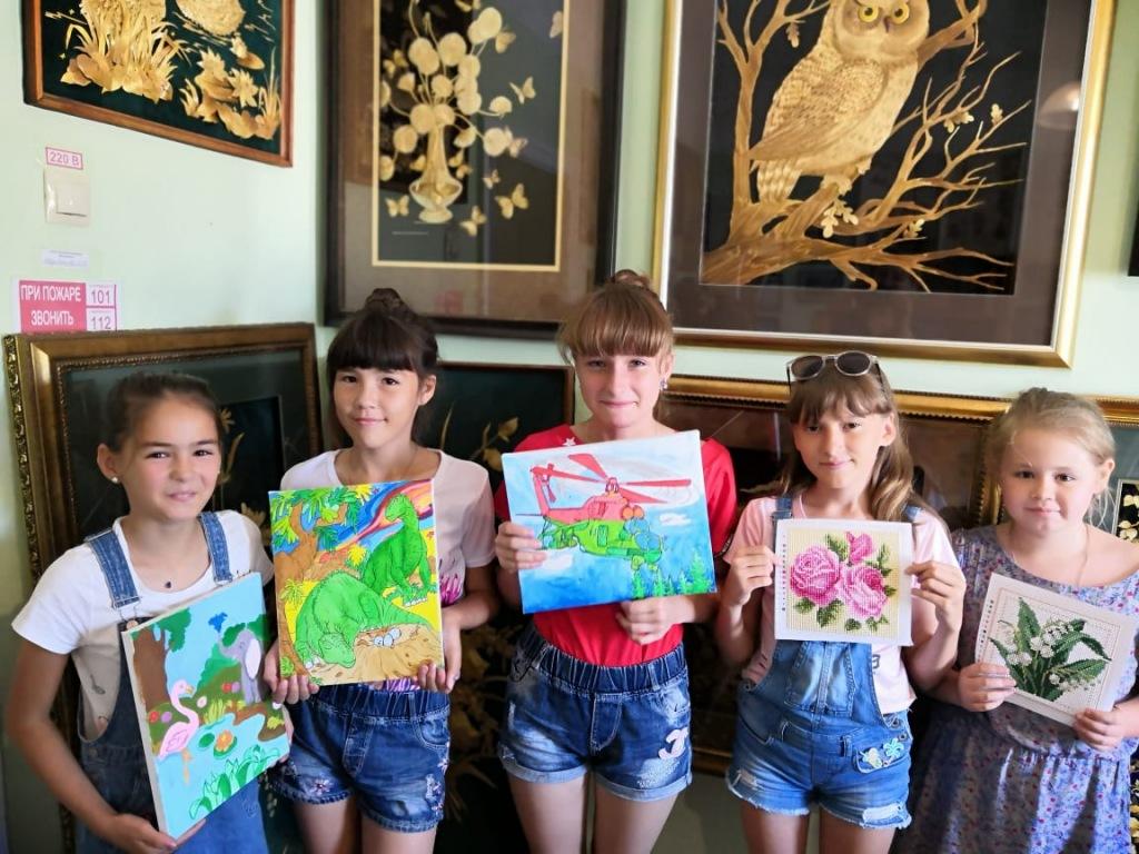Интересные каникулы… с бисером проводят абинские школьники
