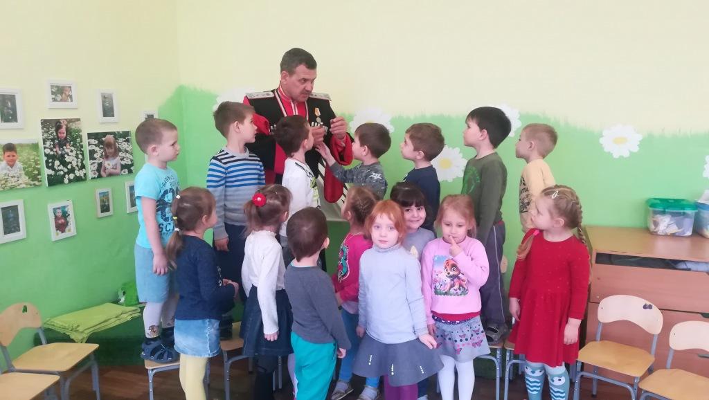 С нового учебного года в Светлогорском детском саду №6 «Яблонька» откроется группа казачьей направленности.