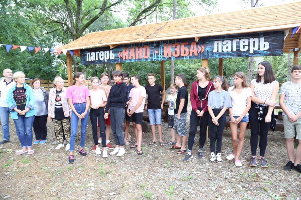 В станице Эриванской открылся палаточный лагерь «НАНО-ИЗБА»