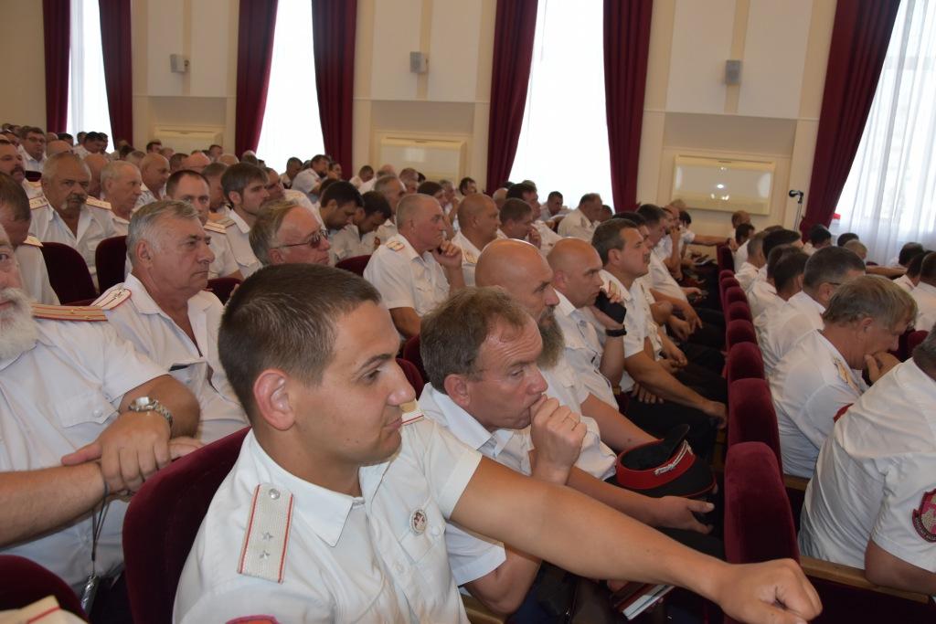 Казаки Абинского РКО участвовали в совете атаманов