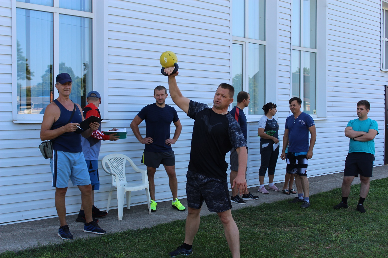 Летний фестиваль ГТО проходит в поселениях Абинского района
