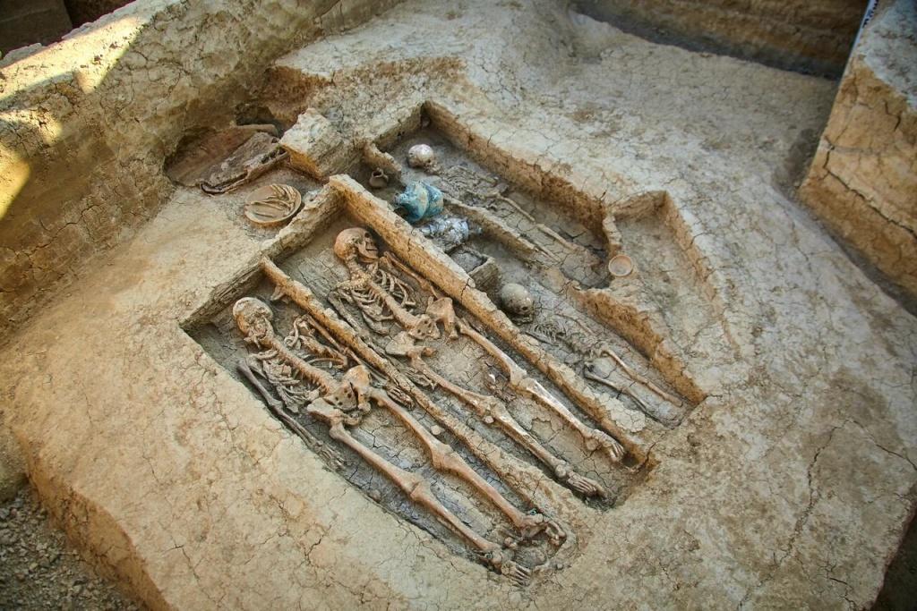 Неразграбленную усыпальницу V века н. э. нашли в Фанагории