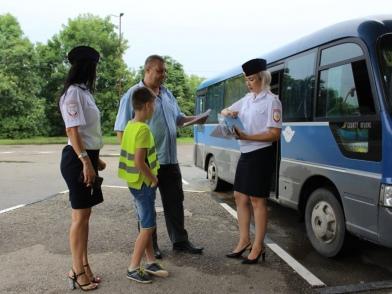 Абинские полицейские провели профилактические мероприятия на автовокзале.