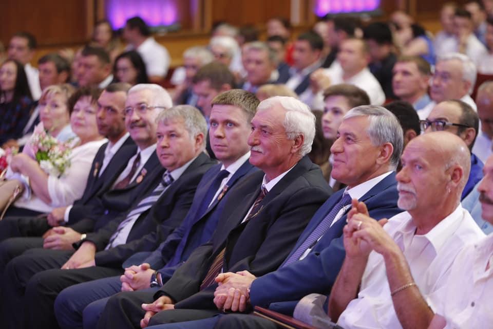 Абинчане удостоены краевых медалей