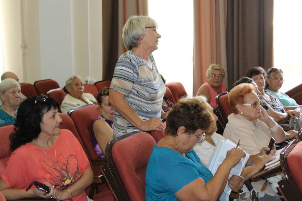 Ветераны обсудили вопросы подготовки к празднованию 75-летия Победы в Великой Отечественной войне