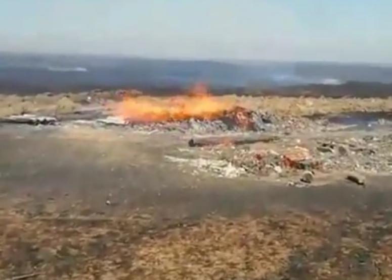 В Темрюкском районе произошло два крупных пожара
