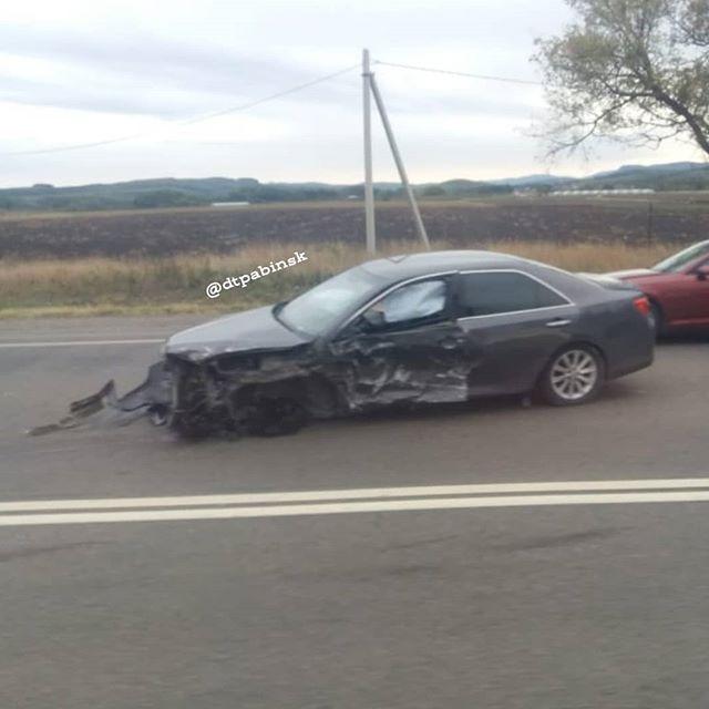 В Абинском районе произошло дорожно-транспортное происшествие