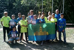 Сборная Абинского района заняла третье место в краевом фестивале юных туристов Кубани