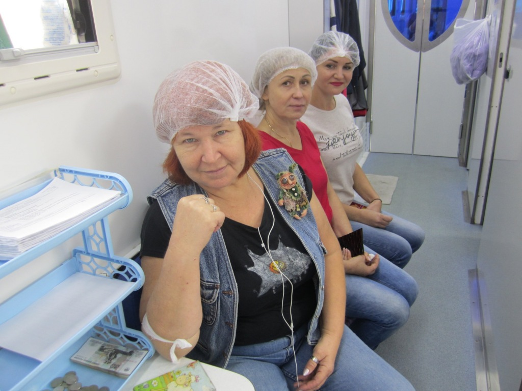 В Абинске состоялась очередная суббота донора