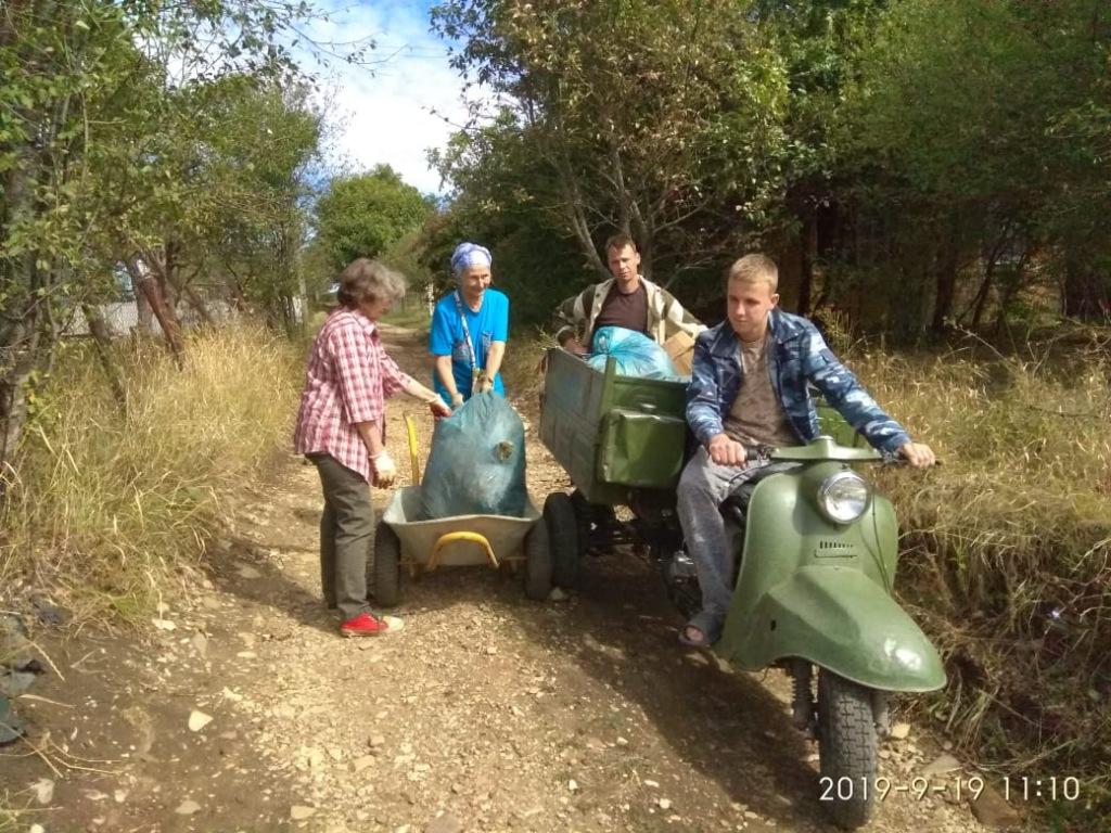 На Владыкиной горе в Абинске на территории садовых товариществ провели субботник