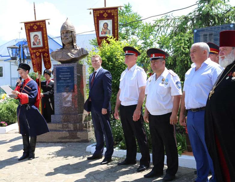 В Абинском районе отметили День святого благоверного князя Александра Невского