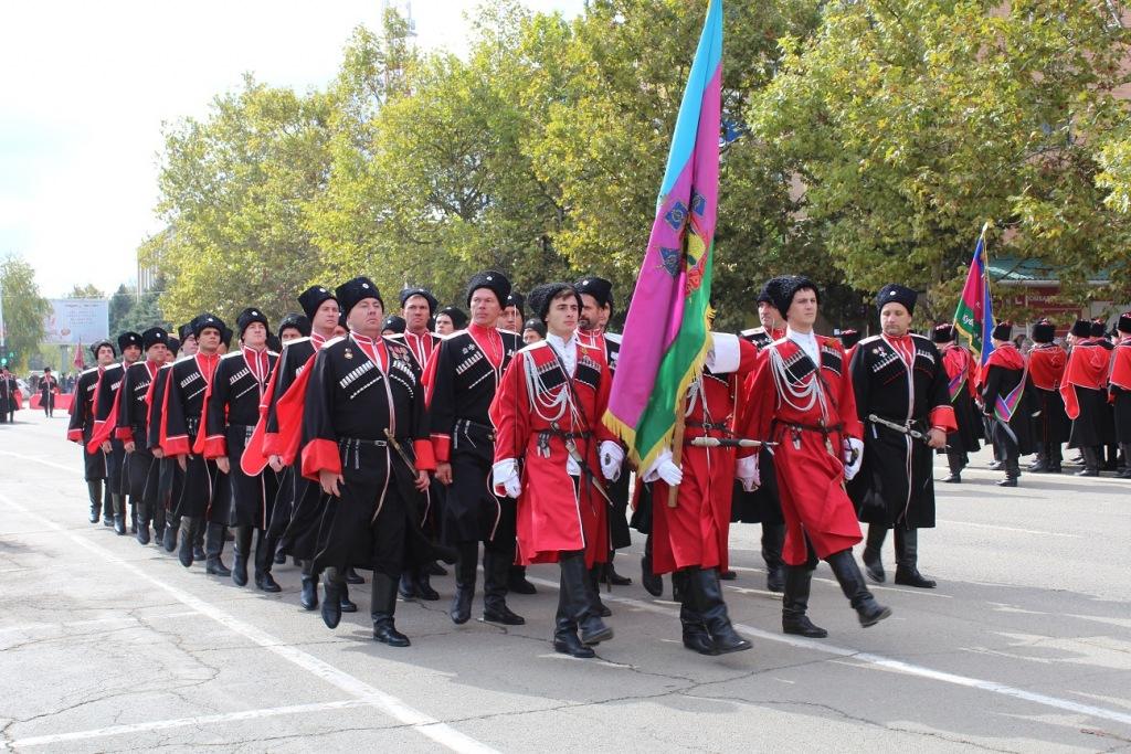 Казаки и казачата Абинского района примут участие в праздничных мероприятиях в Темрюке