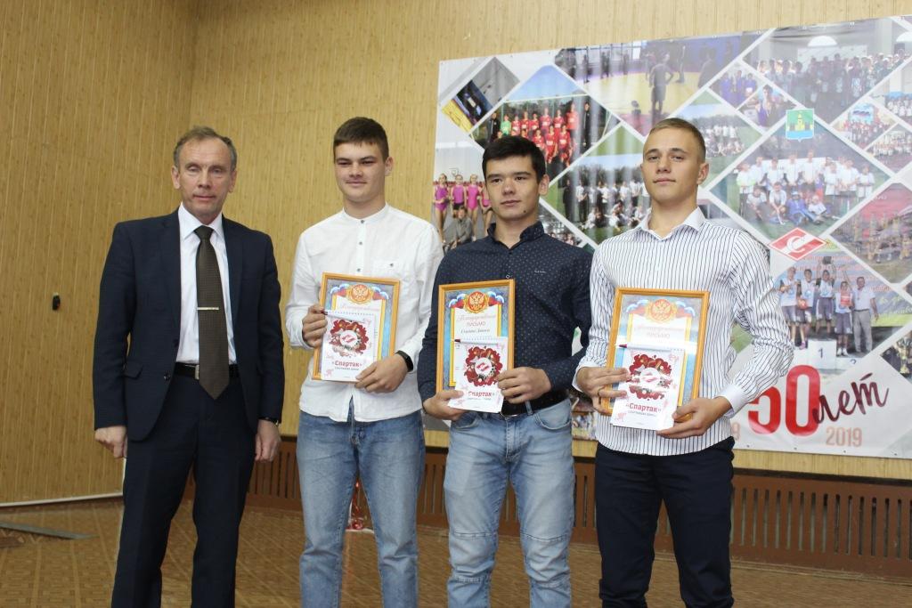 На прошлой неделе 50-летие со дня основания отметила спортивная школа «Спартак»
