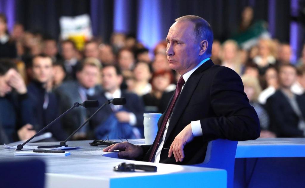Президент России проведет большую пресс-конференцию 19 декабря