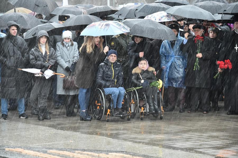 В краевой столице прошел митинг в честь 77-летия освобождения Краснодара от немецко-фашистких захватчиков