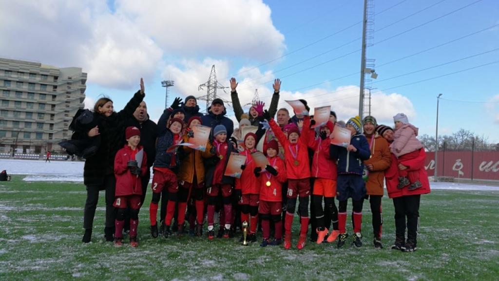 Чемпионы зимнего первенства Краснодарского края по футболу