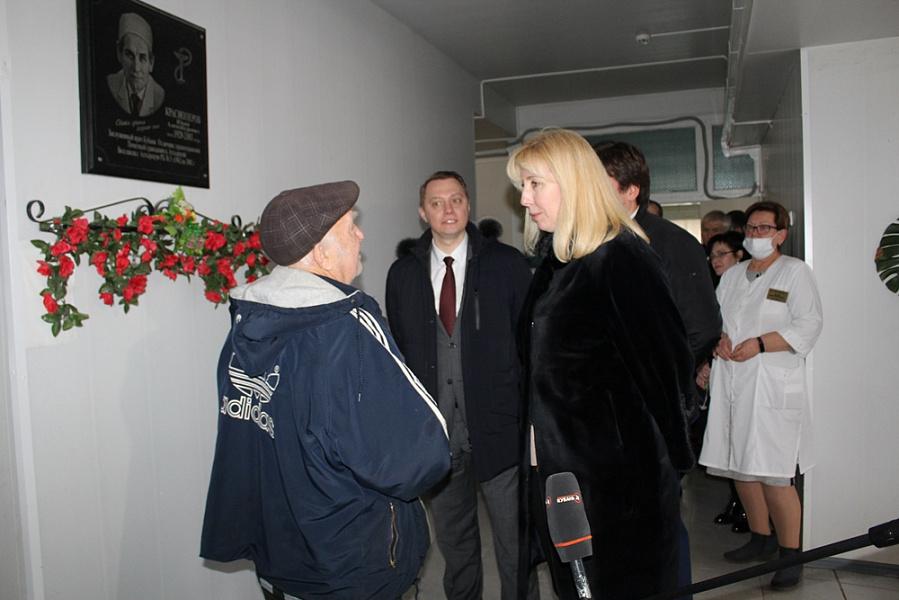 Замглавы Кубани посетила социальные объекты Абинского района