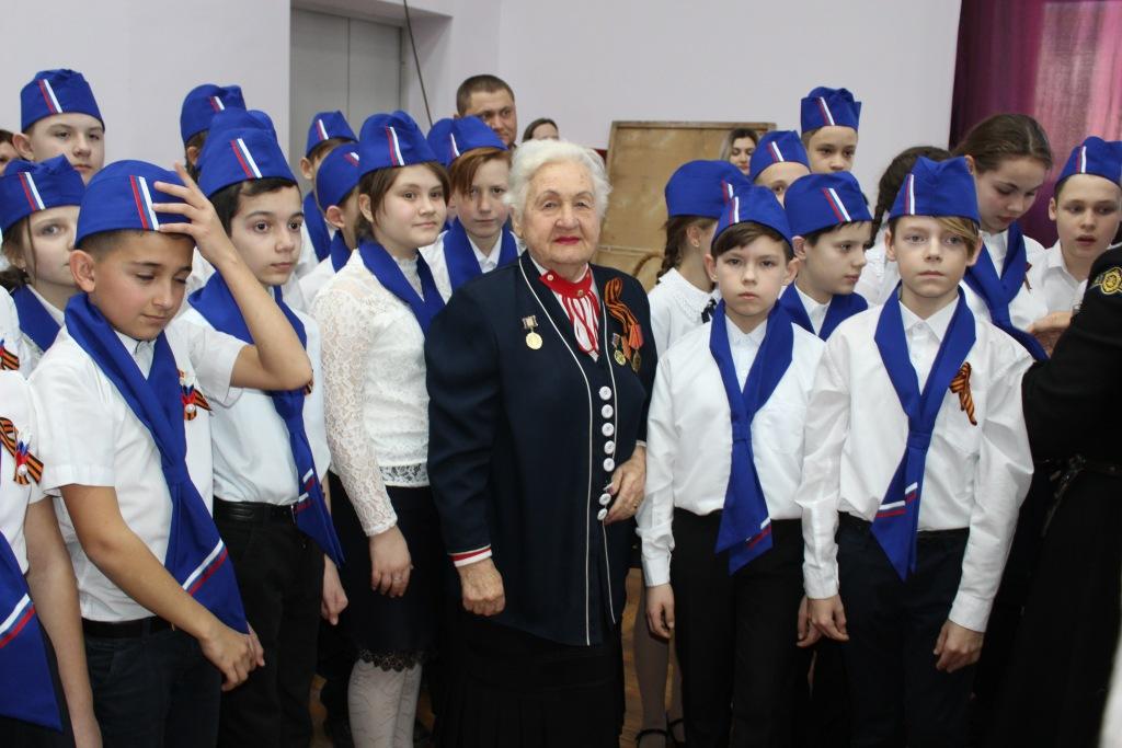 Ученики семи Абинских школ вступили в ряды «жуковцев»