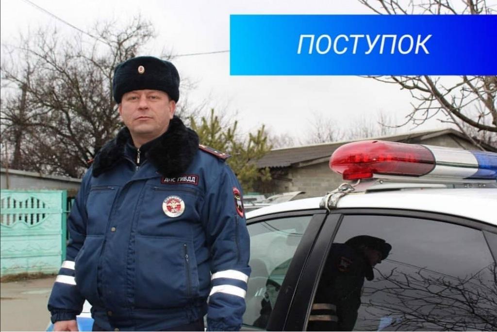 В Абинске полицейские экстренно доставили пострадавшую в больницу