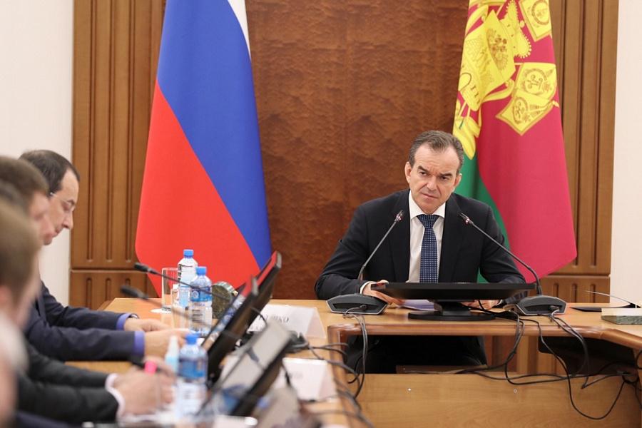 Вениамин Кондратьев поручил определить организации для возобновления работы