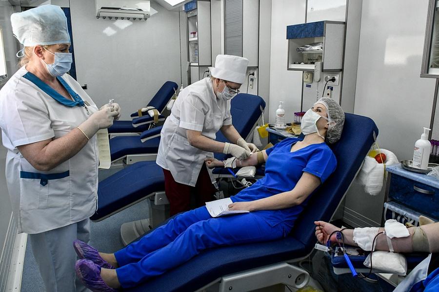 Чтобы сдать кровь не нужно получать спецпропуск
