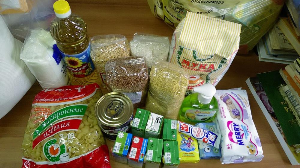 Нуждающимся семьям раздадут продуктовые наборы