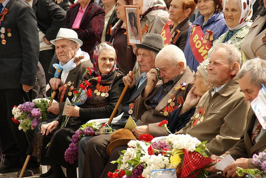 На поддержку ветеранов выделено почти пол миллиарда рублей