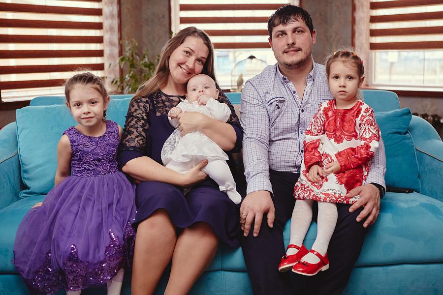 В Краснодарском крае уделяется большое внимание поддержке многодетных семей