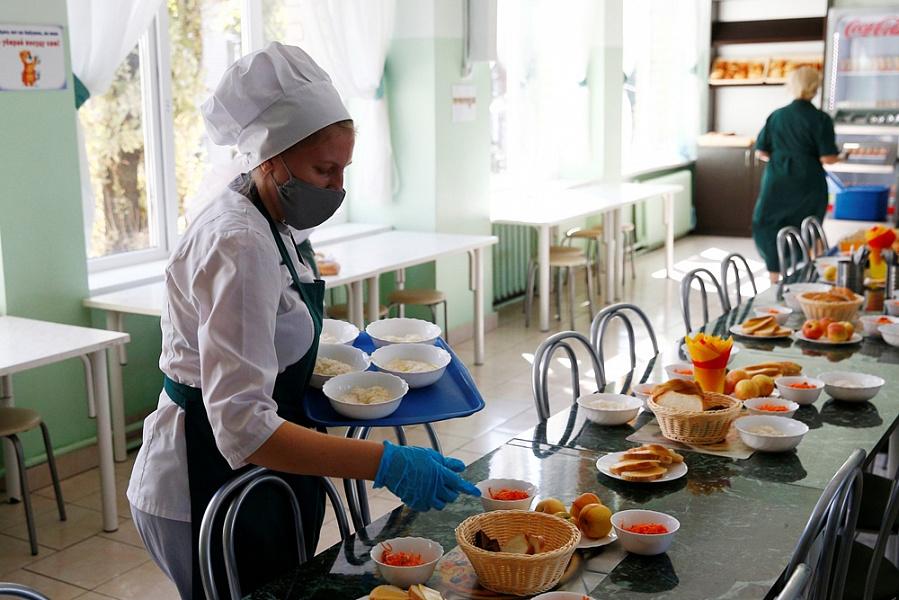 По бесплатному горячему питанию в школах Кубани создана рабочая группа