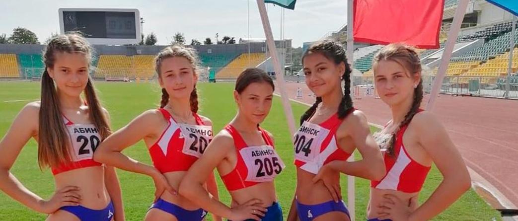 Спортсменки Абинского района привезли медали