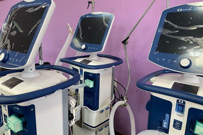 В инфекционной больнице Краснодара появилось оборудования для борьбы с коронавирусом