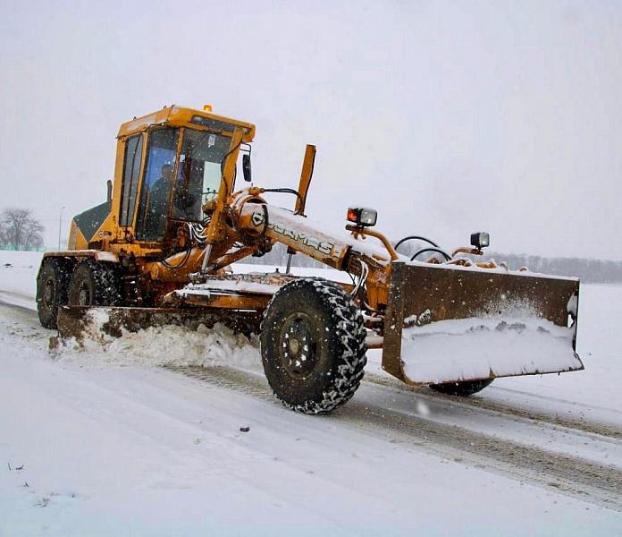 Краевые дороги от снега чистили более 160 единиц техники