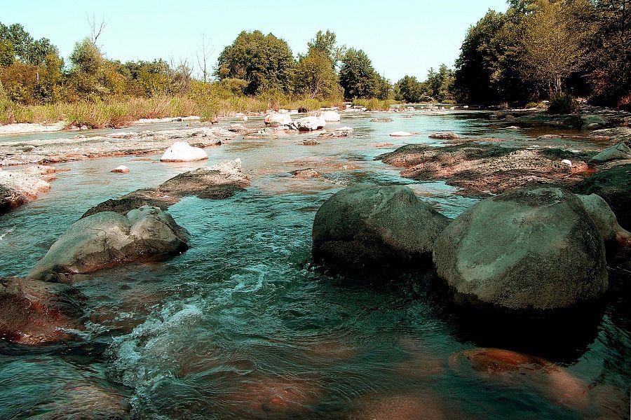 В Абинском районе наблюдается подъем уровня рек