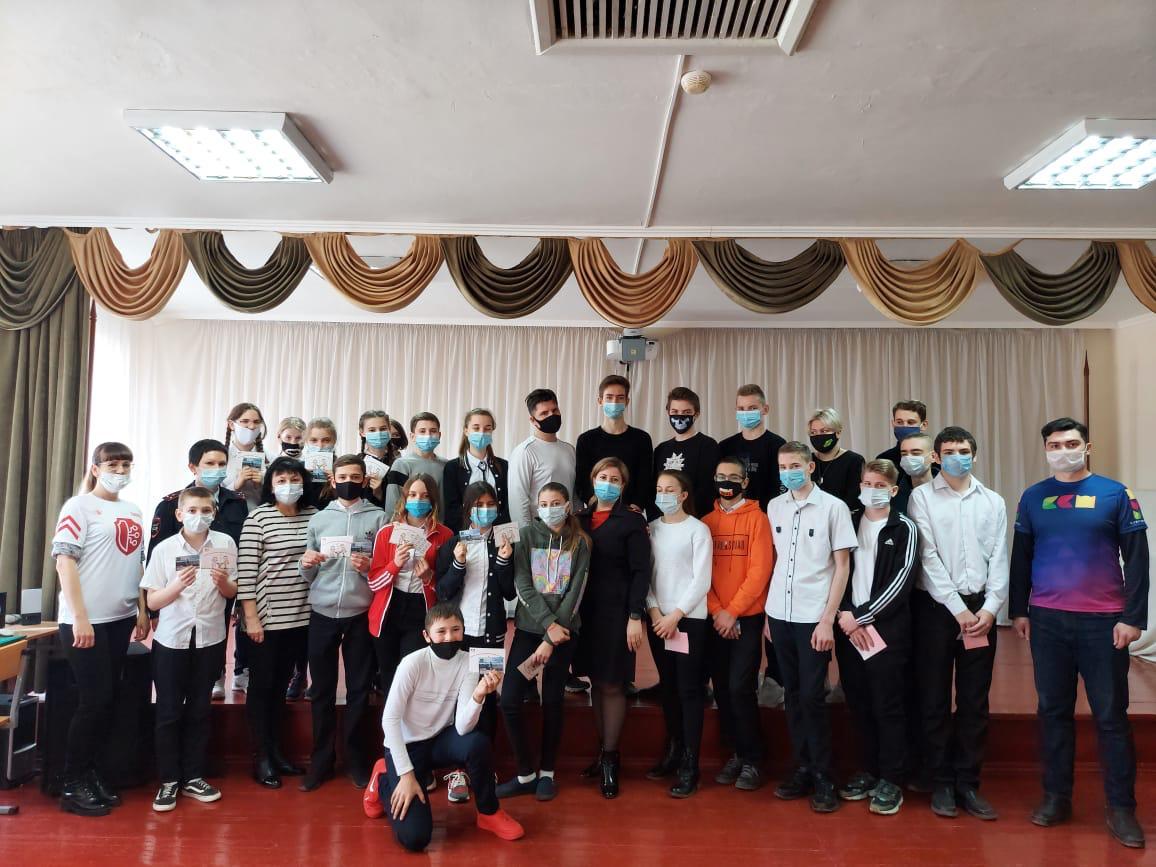 В Абинском районе полицейские и активисты провели профилактические мероприятия