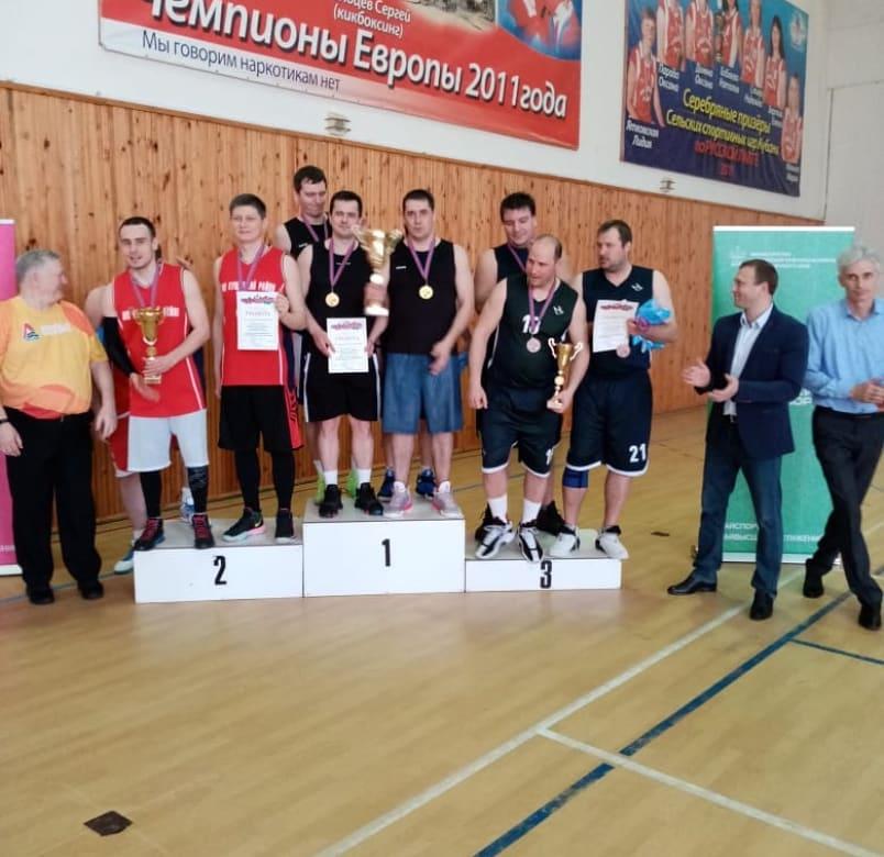 Команда Абинского района заняла первое место