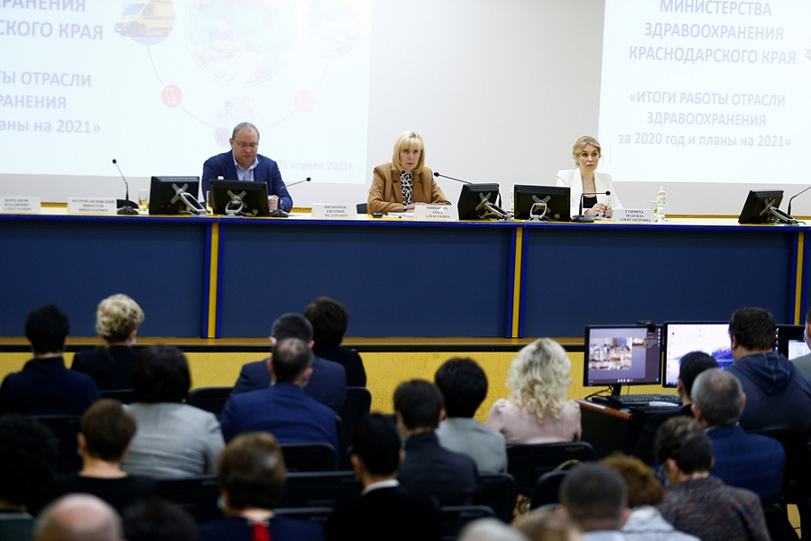 Диспансеризацию и профилактические осмотры на Кубани в 2021 году пройдут более 2,2 млн человек