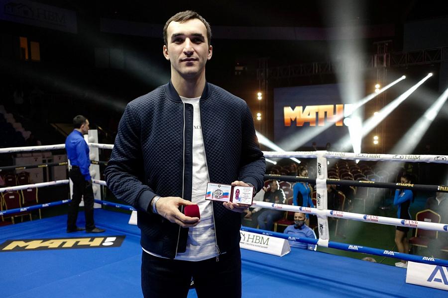 Кубанский боксер впервые получил звание заслуженного мастера спорта РФ