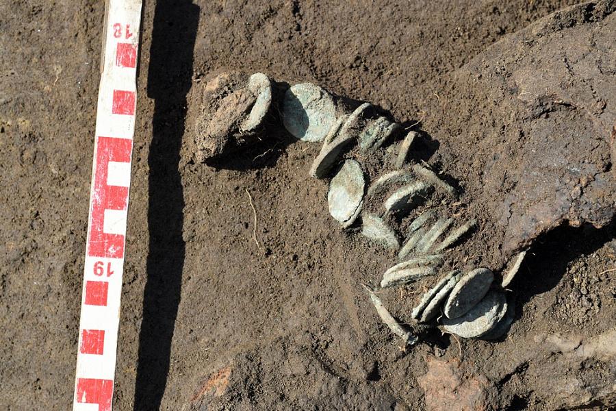 Античные монеты найдены археологами на месте реконструкции дороги в Славянском районе
