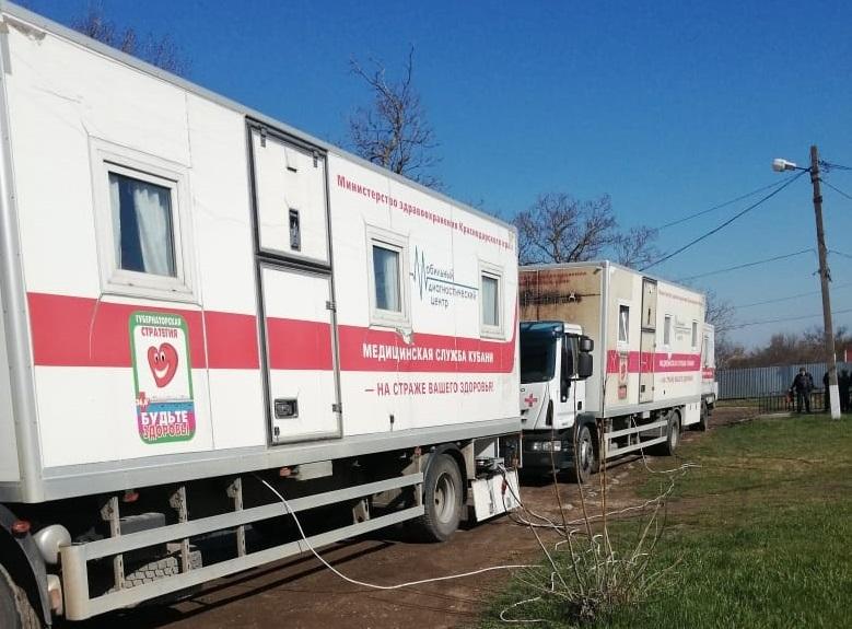 Для жителей отдаленных поселений проводят профилактические обследования