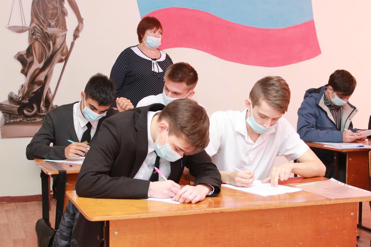 Абинские подростки написали «Избирательный диктант»