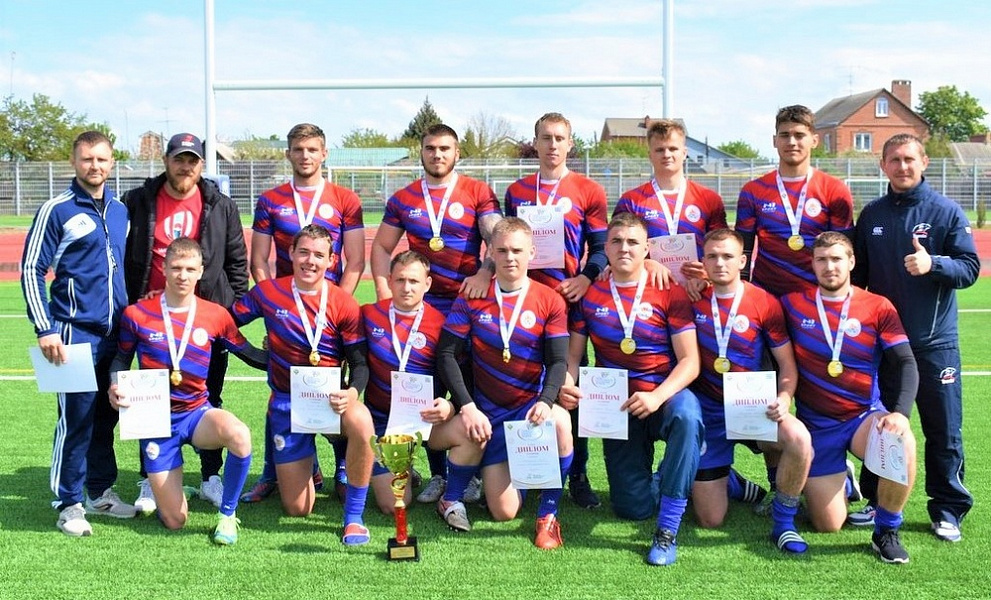 Кубанские регбисты победили во втором этапе спартакиады молодежи России