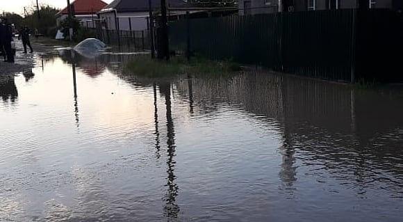 В реке Шибик поднялся уровень воды