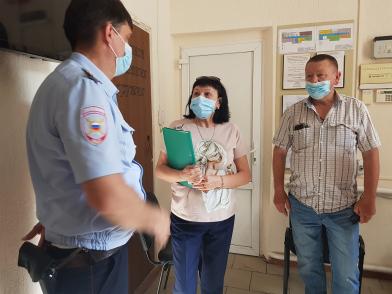 В Абинске проверили работу дежурной части