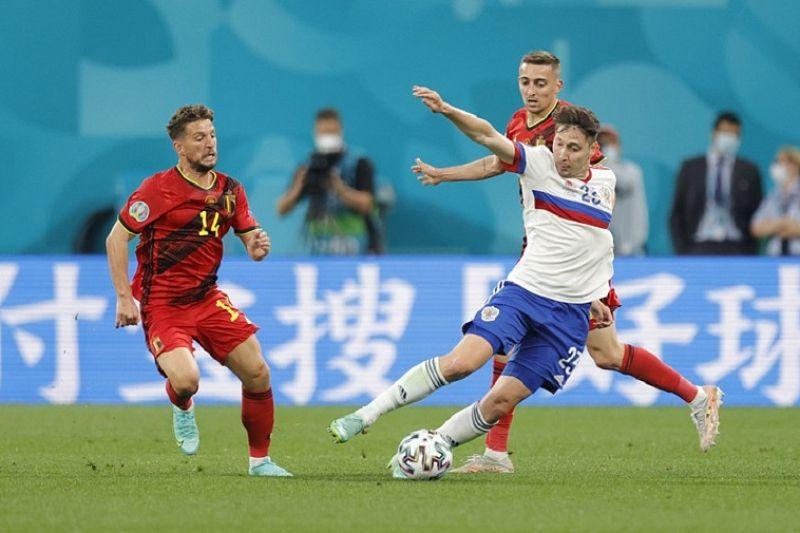 Команда Бельгии обыграла Сборную России в первом матче чемпионата Европы