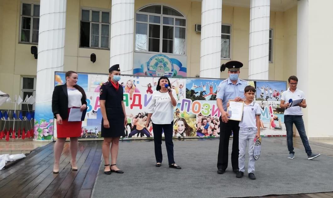 В Абинске полицейские и общественники организовали конкурс рисунков