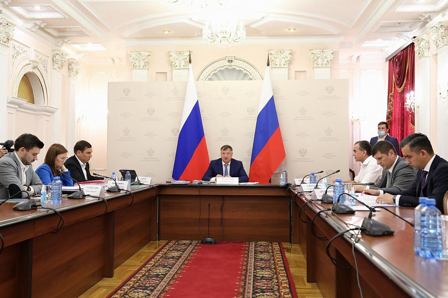 С рабочим визитом в Краснодарский край прибыл вице-премьер РФ Марат Хуснуллин