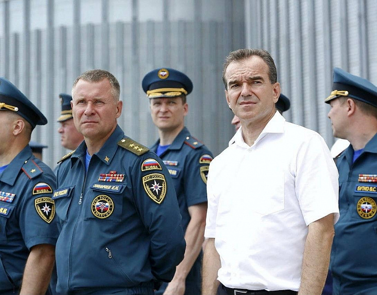 Вениамин Кондратьев выразил соболезнования в связи с гибелью главы МЧС России Евгения Зиничева