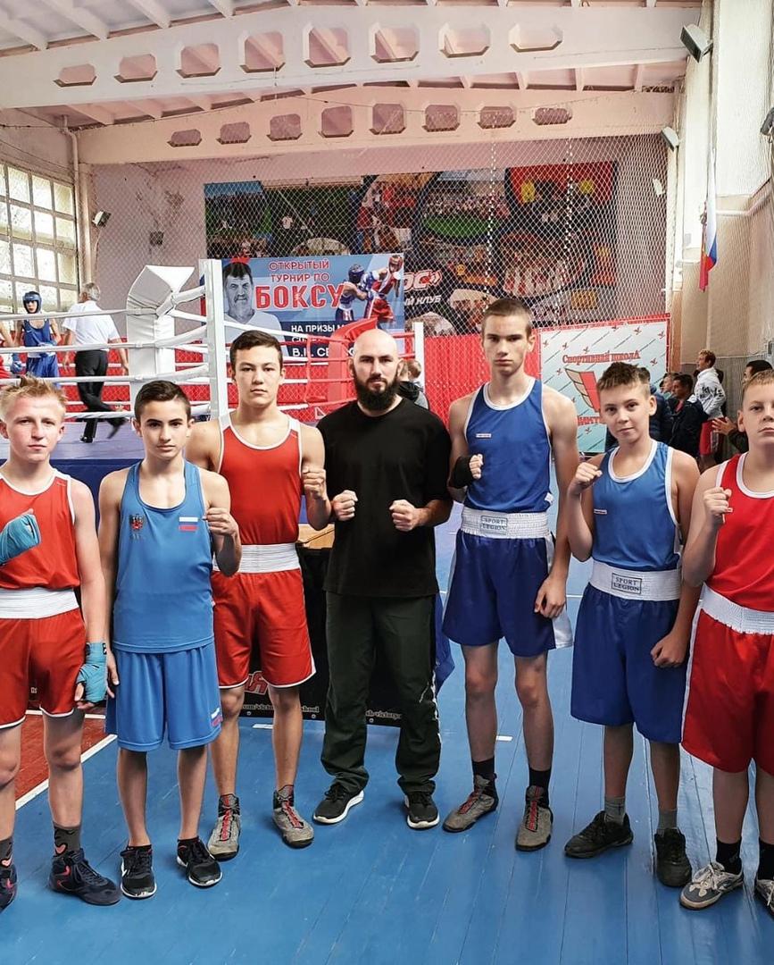 Абинские боксеры заняли призовые места