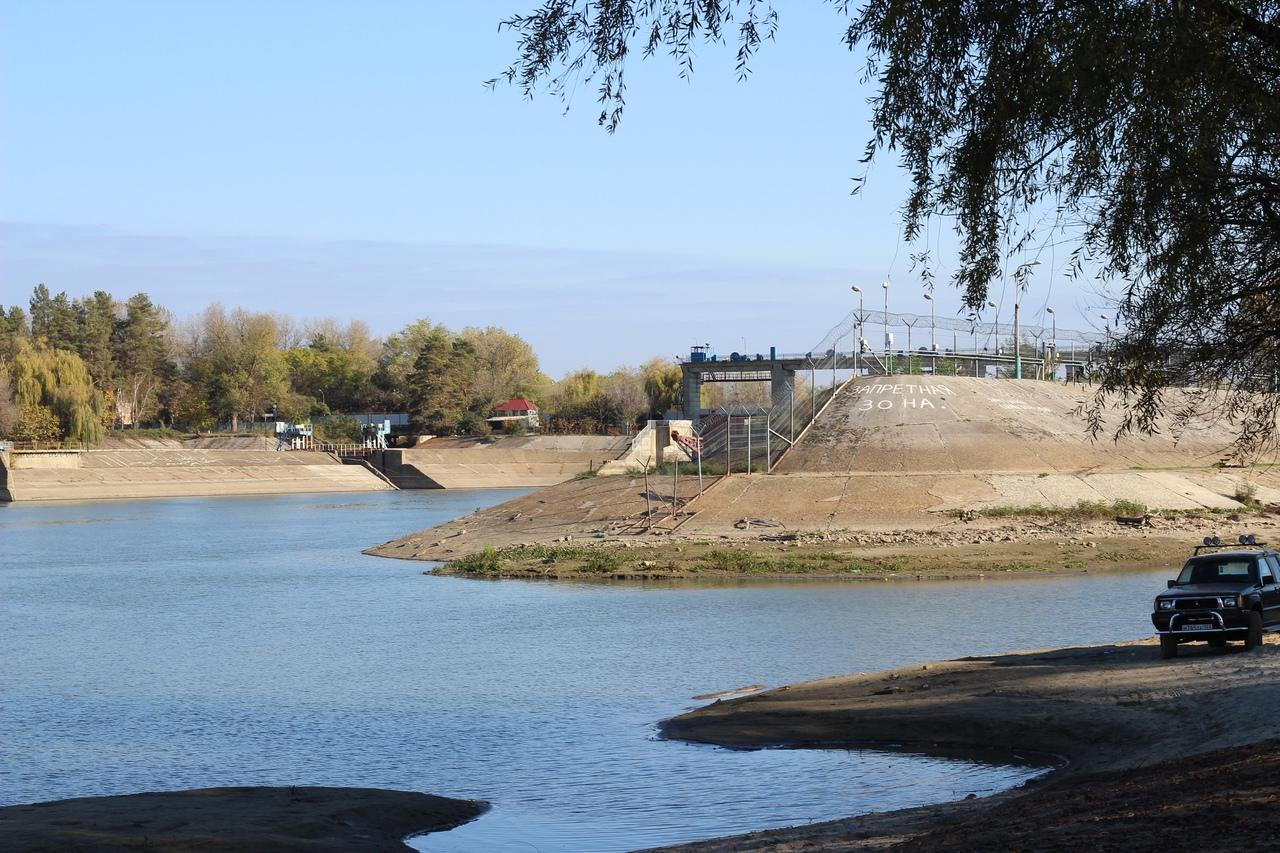 Федоровский гидроузел закрыли на реконструкцию