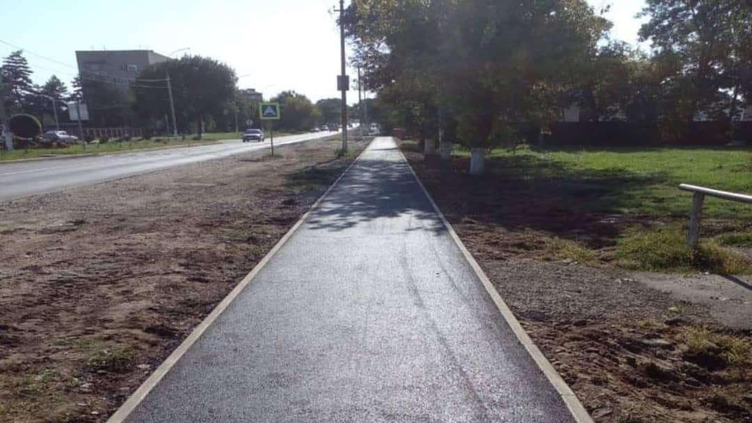 Где ремонтируют дороги в Абинском районе